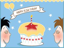 Birthday kids Royalty Free Stock Photo