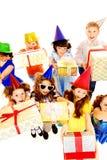 Birthday kids Stock Photo