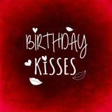 Birthday Kisses Royalty Free Stock Photos
