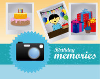 Birthday memories Royalty Free Stock Images