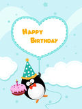 Birthday Message Royalty Free Stock Images