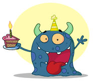 Birthday monster Royalty Free Stock Photos