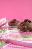 Birthday Muffin Stock Photo