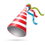 Birthday/ new year's eve party hat Stock Images