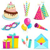 Birthday Object Royalty Free Stock Photo