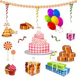 Birthday Object. Easy to edit vector illustration of birthday object vector illustration