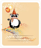 Birthday panda Stock Photos