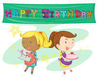 A birthday party Royalty Free Stock Photography