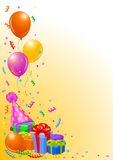 Birthday party background Royalty Free Stock Image