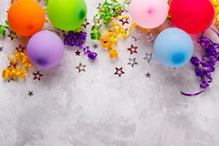 Birthday Party Background Royalty Free Stock Photo
