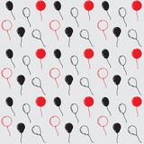 Birthday Party Balloons, Seamless Vector Pattern Royalty Free Stock Image