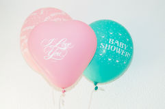 Birthday or party balloons Stock Image