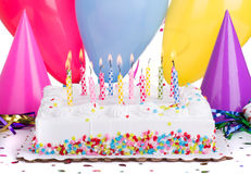 Birthday Party Cake Stock Photography