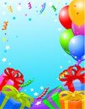 Birthday party card Stock Photos