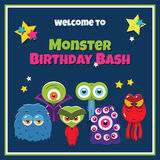 Birthday party card Royalty Free Stock Photo