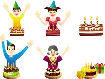 Birthday Party Celebration Royalty Free Stock Images
