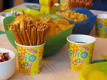 Birthday party celebration Royalty Free Stock Photo
