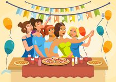 Birthday Party Celebration Vector Illustration vector illustration