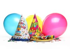 Birthday party decoration Royalty Free Stock Photo