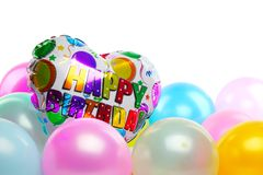 Birthday party decoration Royalty Free Stock Photos