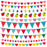 Birthday party decoration Royalty Free Stock Image