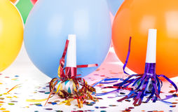 Birthday Party Decorations Stock Photo
