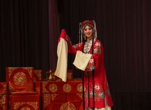 "Birthday party dress- Beijing Opera"" Women Generals of Yang Family"" Royalty Free Stock Photos"