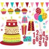 Birthday Party Element Royalty Free Stock Photos
