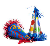 Birthday party hats Royalty Free Stock Photos