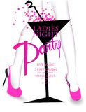 Ladies nigth party with young woman`s legs and coctail glass. Vector illustration vector illustration