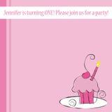 Birthday Party Invite Stock Image