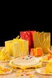 Birthday party still life Royalty Free Stock Photos