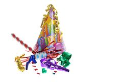Birthday party supplies Stock Image