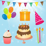 Birthday Party Vector Element Royalty Free Stock Image
