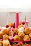 Birthday pastries Royalty Free Stock Photo