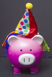 Birthday Pig Stock Images