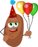 Birthday potato Stock Photos