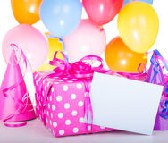 Birthday Present Royalty Free Stock Photos
