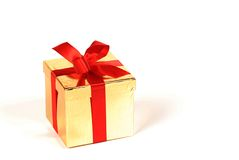 Birthday present gift stock photography