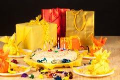 Birthday presents Stock Photo