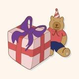 Birthday presents theme elements vector,eps. Vector illustration file Stock Photo