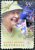 Birthday of Queen Elizabeth II Royalty Free Stock Photo