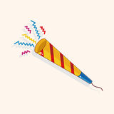 Birthday ribbon theme elements. Vector illustration file Stock Photography