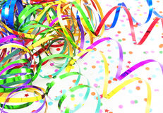 Birthday ribbons Royalty Free Stock Images