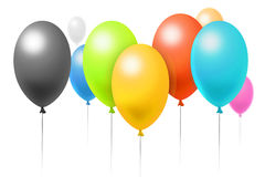 Birthday's balloons Stock Image