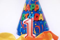 Birthday scene 6 Royalty Free Stock Photos