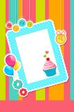 Birthday Scrapbook Royalty Free Stock Image