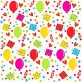 Birthday seamless,pattern Royalty Free Stock Photos
