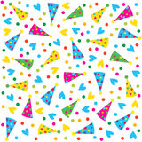 Birthday seamless,pattern Royalty Free Stock Photo
