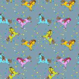 Birthday Seamless Pattern Royalty Free Stock Images